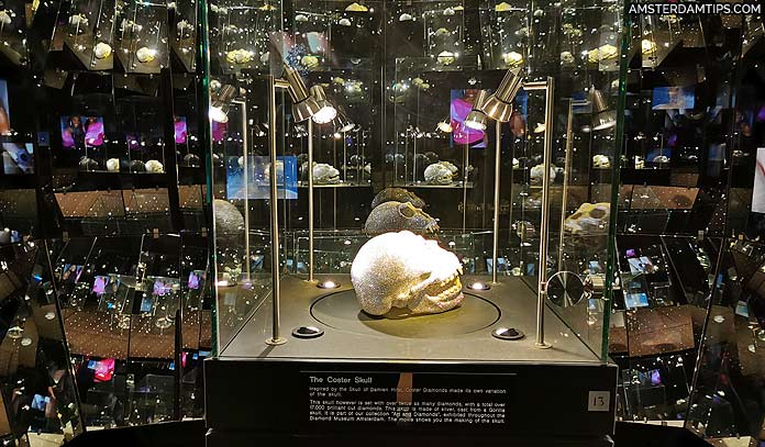 diamond museum amsterdam coster skull