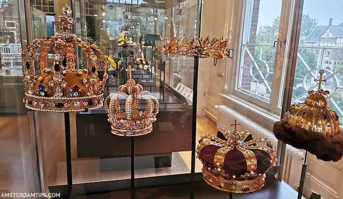 diamond museum amsterdam crowns