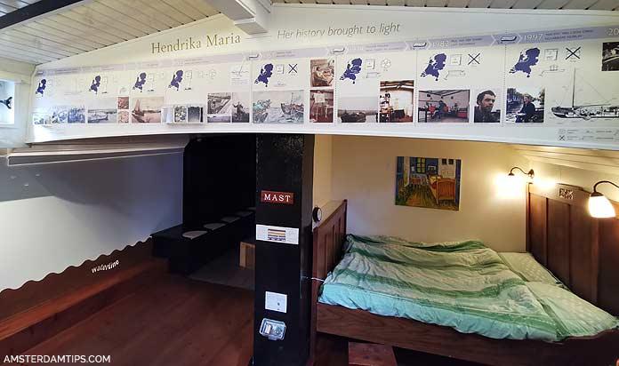 houseboat museum amsterdam sleeping nook