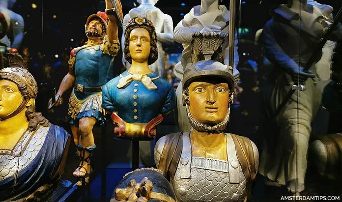 maritime museum amsterdam ship decorations