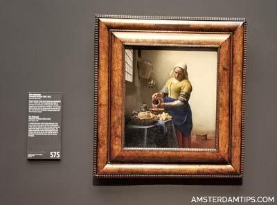 milk maid (vermeer) rijksmuseum amsterdam