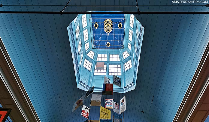 new synagogue roof at jhm amsterdam