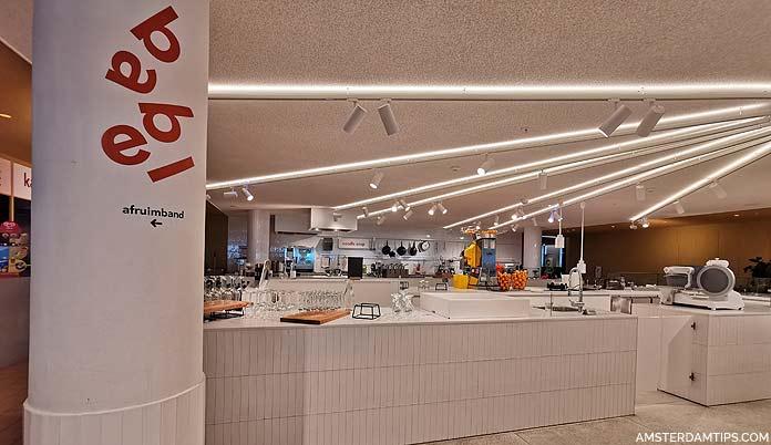 oba amsterdam library babel cafe restaurant