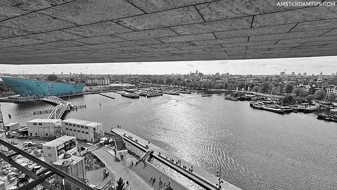 oba library panorama nemo amsterdam