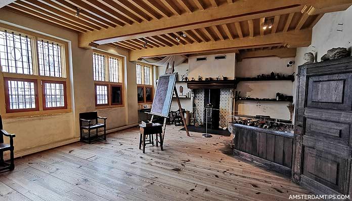 rembrandt house large studio