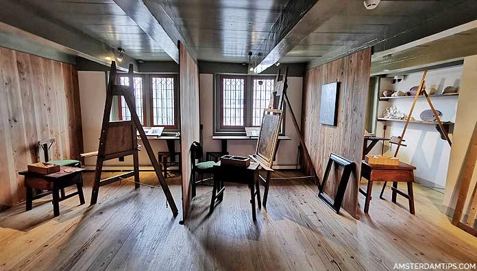 rembrandt house small studio