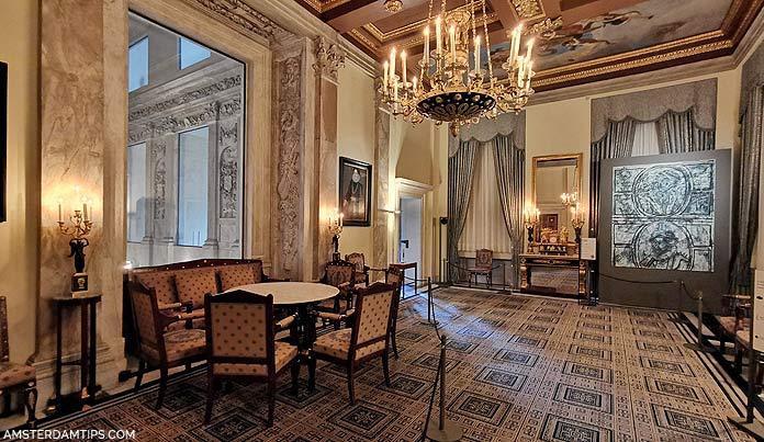 royal palace amsterdam burgomasters chamber