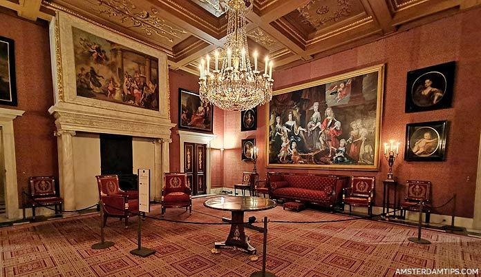 royal palace amsterdam small reception room