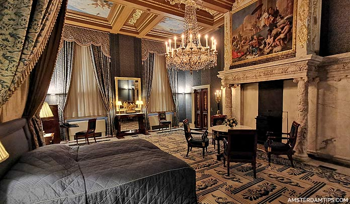 royal palace amsterdam thesaurie ordinaris bedroom