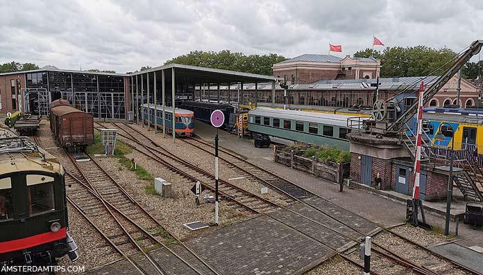 spoorwegmuseum panorama