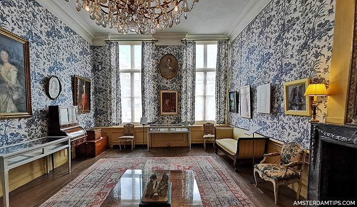 van loon house amsterdam bird room