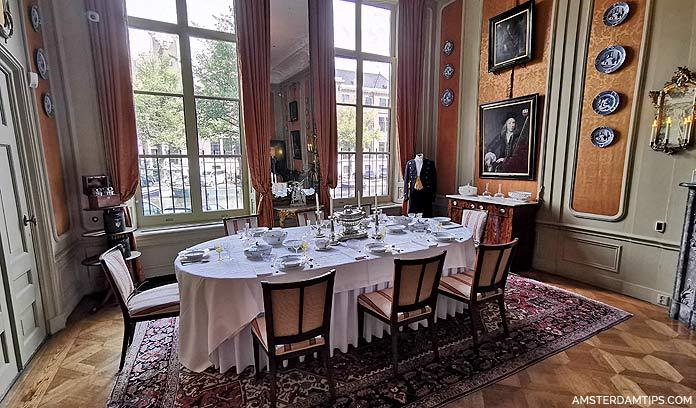van loon house amsterdam dining room