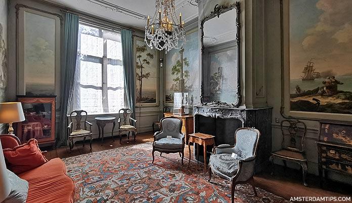 van loon house amsterdam drakensteyn room