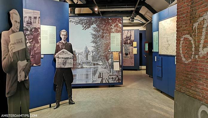verzetsmuseum amsterdam exhibition