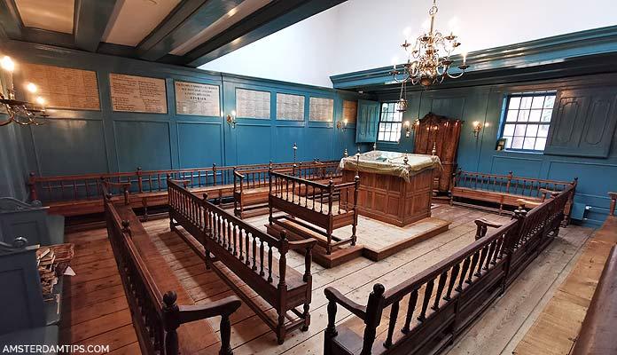 winter synagogue amsterdam