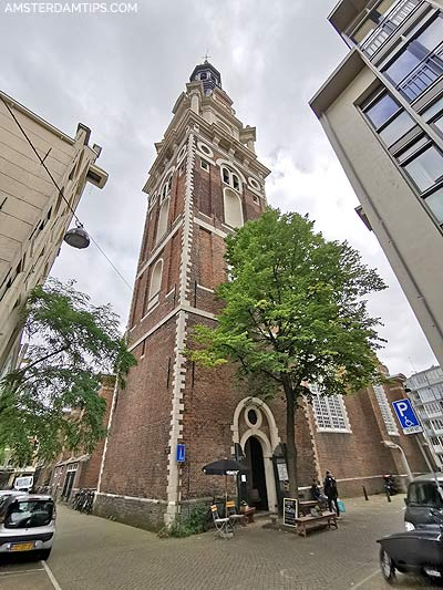 zuiderkerk tower amsterdam entrance