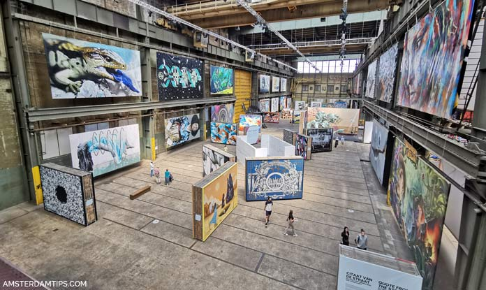 straat street art museum gallery