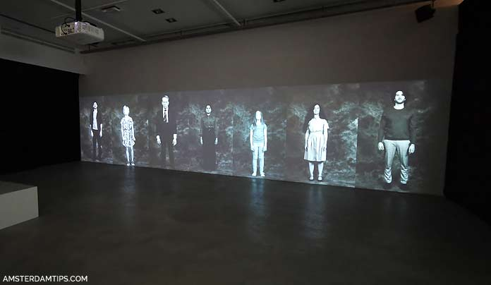 tot zover museum installation