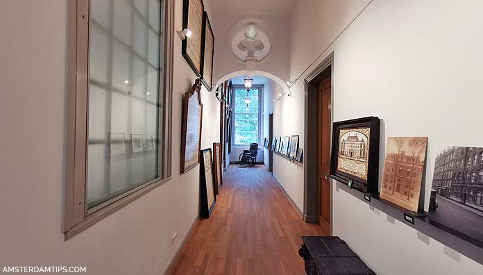luther museum amsterdam hallway