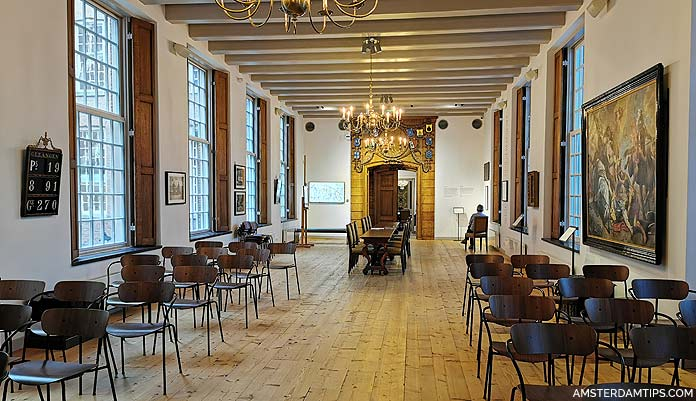 luther museum amsterdam refectory