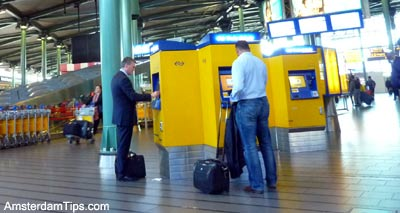 Schiphol Airport To Amsterdam Central By Train Bus